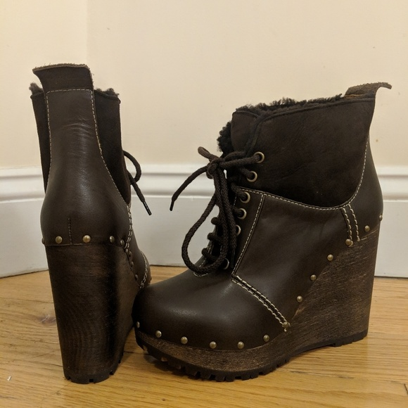2df018f4ed151 See By Chloe Shoes | Clive Platform Lace Up Bootie | Poshmark